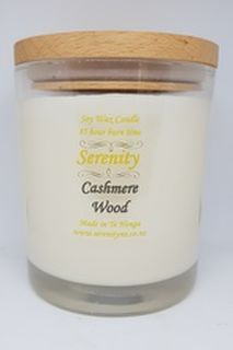 Cashmere Wood Soy Candle - Extra Large