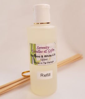 Bamboo & White Lily Reed Diffuser Refill