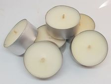 Candy Cane Tealights - 6 pack
