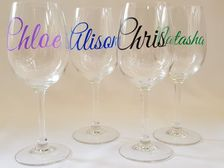 Name Wine Glasses